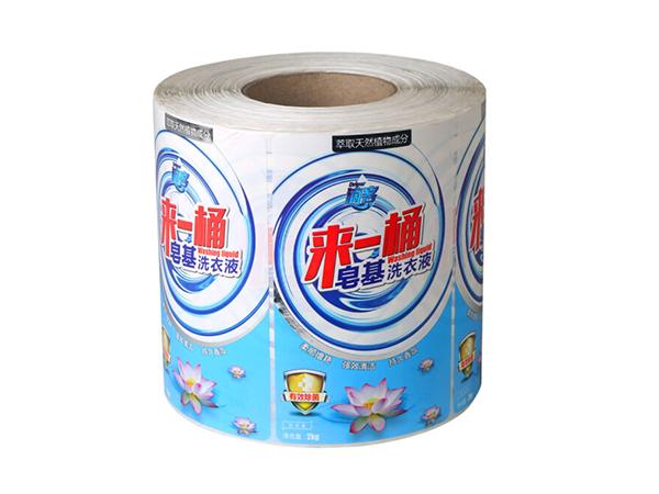洗衣液标签纸